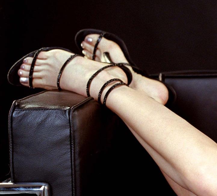 Laura Harring Celebrity High Heels And Feet