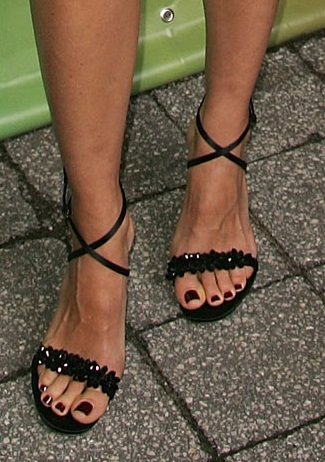 Kim Raver Celebrity High Heels And Feet