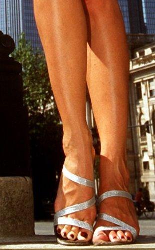 Sonya Kraus Celebrity High Heels And Feet