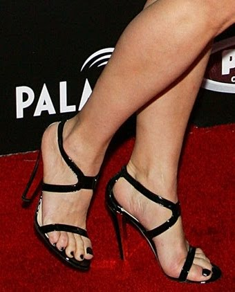 Open Toe Celebrity High Heels And Feet Page 5