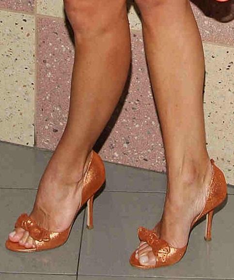 Kelly Ripa Celebrity High Heels And Feet